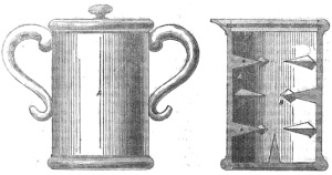 First egg beater 1849