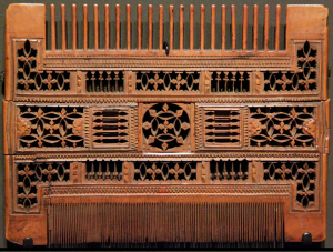 boxwood comb 16th century French