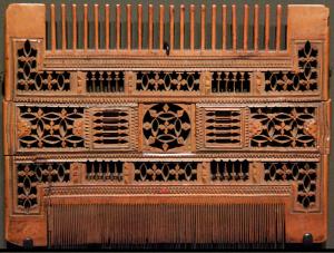 boxwood comb 16th century French