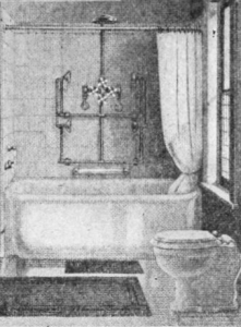 needle shower tub 1916