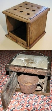 Dutch foot stoves warmers