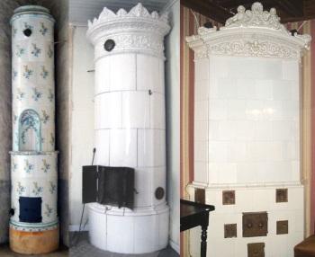 ceramic tiled heating stoves