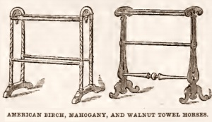 Towel rails 1800s