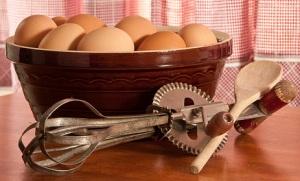 Vintage rotary egg beater