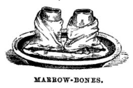 marrowbones served Victorian style