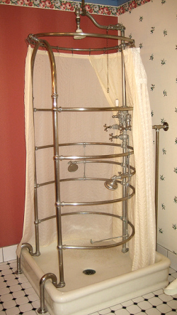 antique shower 1890s