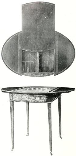 Georgian games table