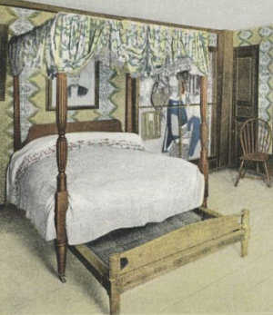 trundle bed 18th century