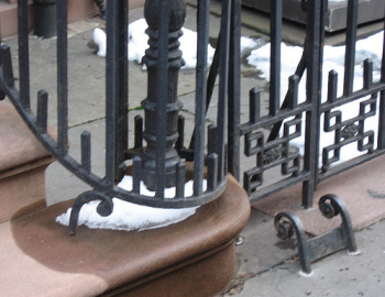 boot scraper railings