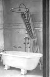 shower bath 1910