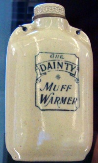 antique muff or hand warmer