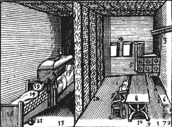 17th century stove room
