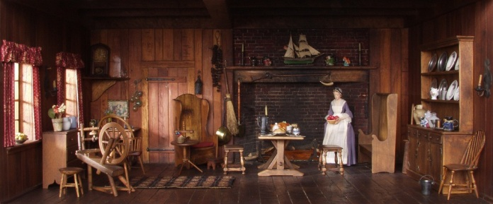 18th century American kitchen