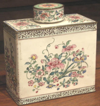 18th century tea caddy